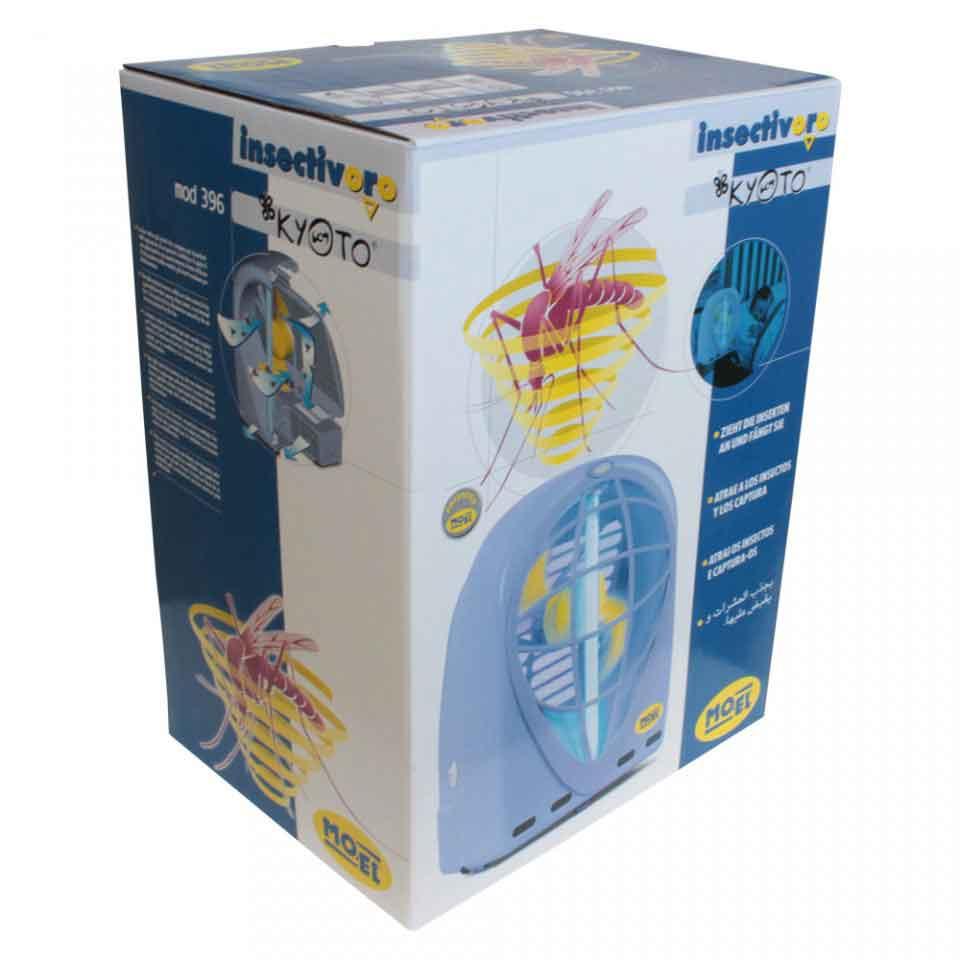 Armadilha Luminosa - CAPTOR 15W (110 Volts) - Embalagem do produto.
