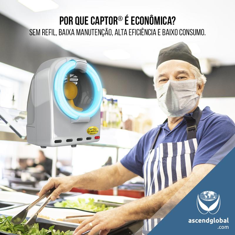 CAPTOR®, Armadilha Luminosa, nas Redes Sociais em Novembro-CAPTOR® é uma armadilha luminosa econômica: sem refil, baixa manutenção, alta eficiência e baixo consumo.