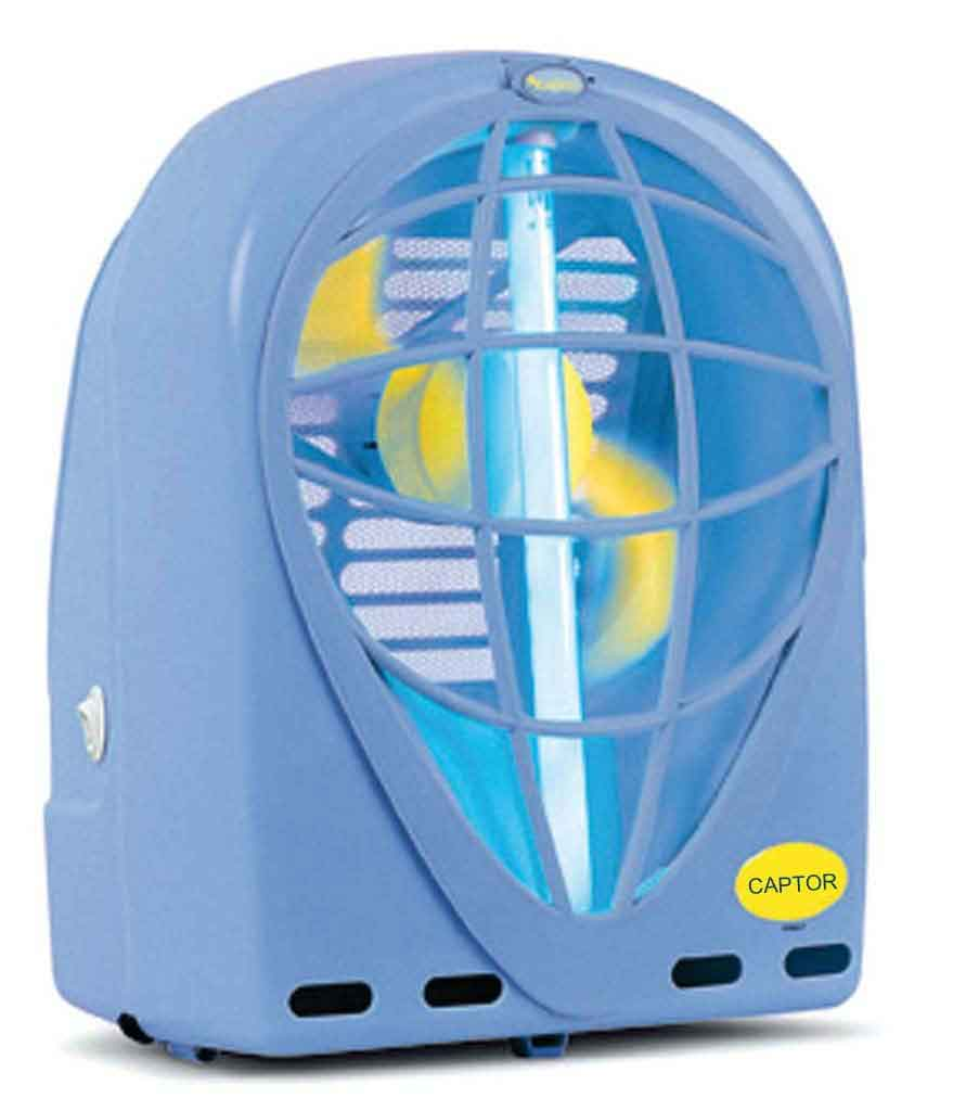 Insect Light Traps - CAPTOR 15W (110 Volts) - 110 Volts  Lâmpada 15W