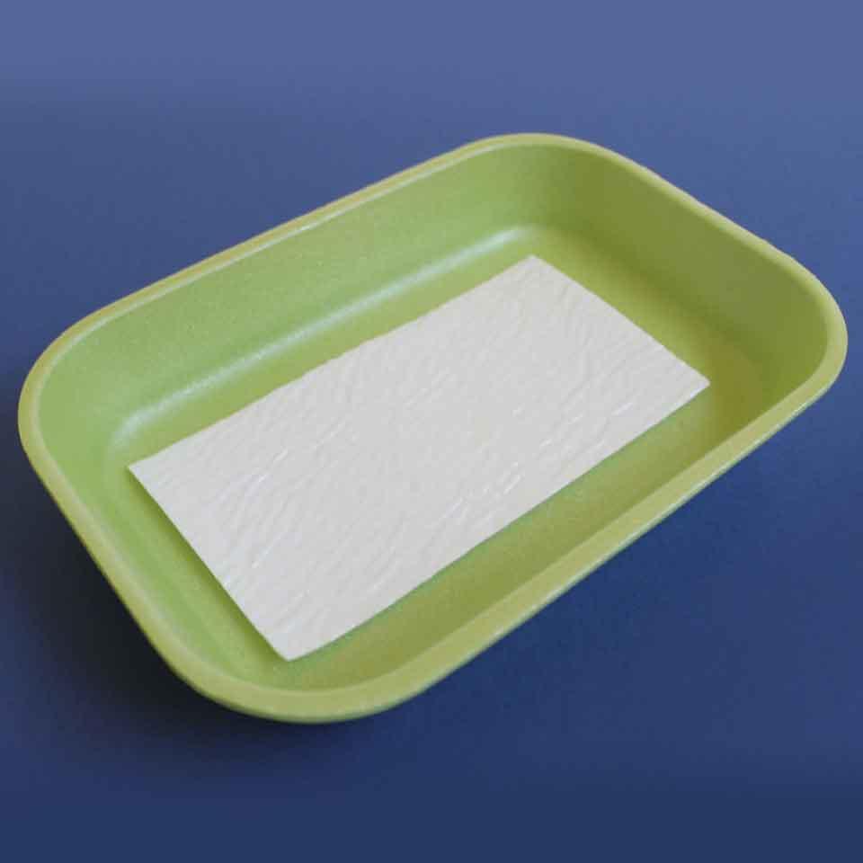 Absorbent Food Pad - Secanti - 50mL Premium - Aspecto em embalagem verde.