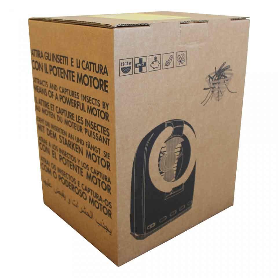 Armadilha Luminosa - Captor 32W (220 Volts) - Embalagem do produto.