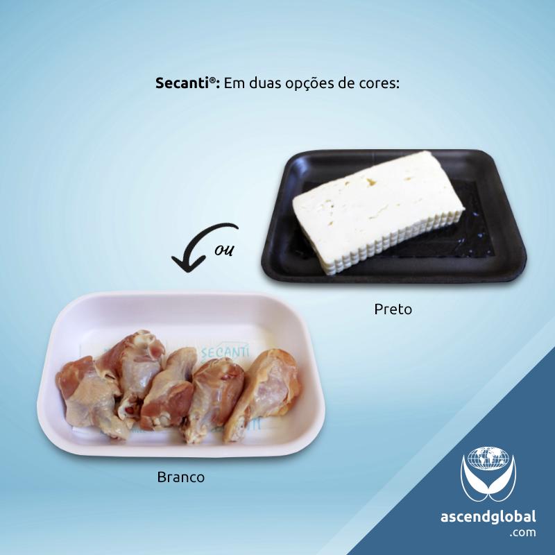 Secanti®, Absorvente para Alimentos nas Redes Sociais em Janeiro e Fevereiro-Secanti® é um absorvente para alimentos disponível nas cores branco e preto.