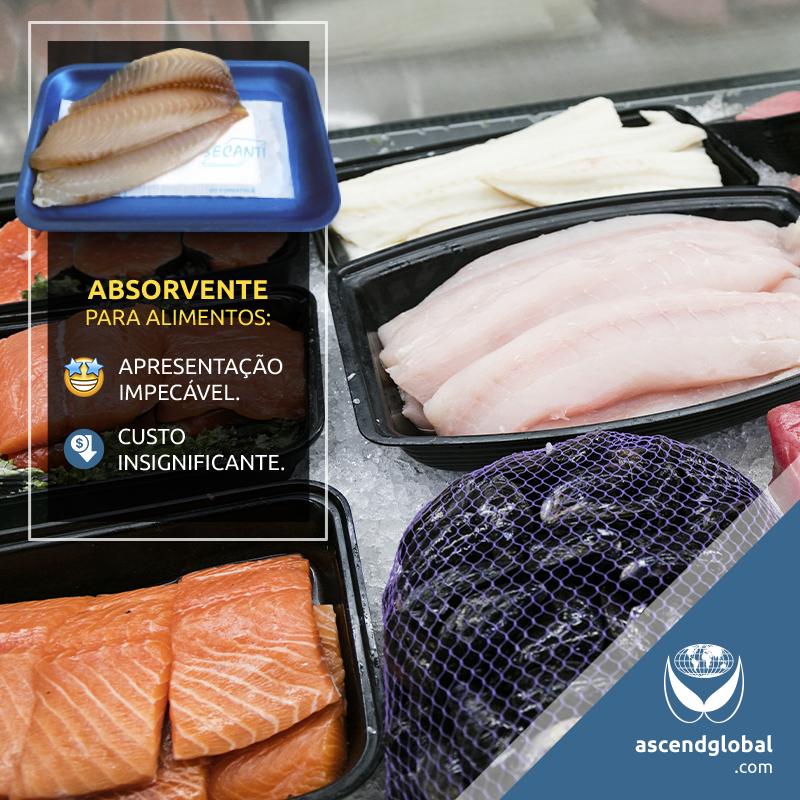 Secanti®, Absorvente para Alimentos nas Redes Sociais em Janeiro e Fevereiro-Secanti® é um absorvente para alimentos que permite uma apresentação impecável a um custo insignificante.