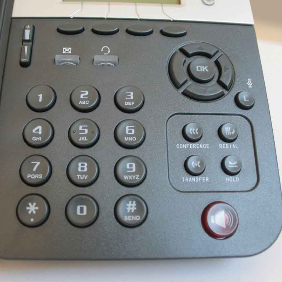 IP Telephones - HablaIP Top - Detalhe do teclado.