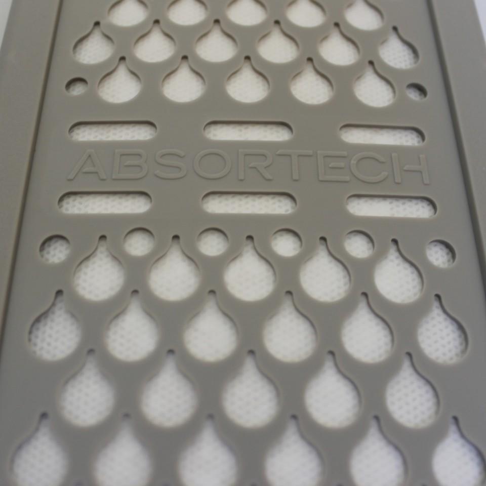 Detalhe do módulo de absorção.