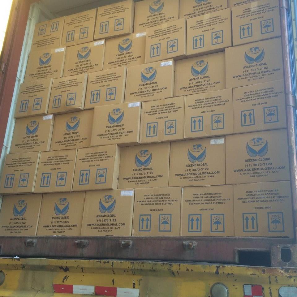 Exportação Container