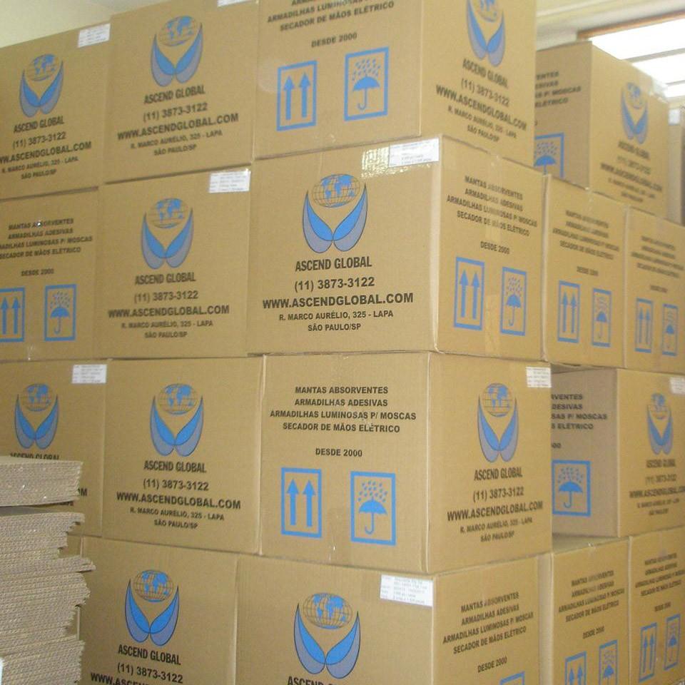 Caixas de Absorvente em Estoque