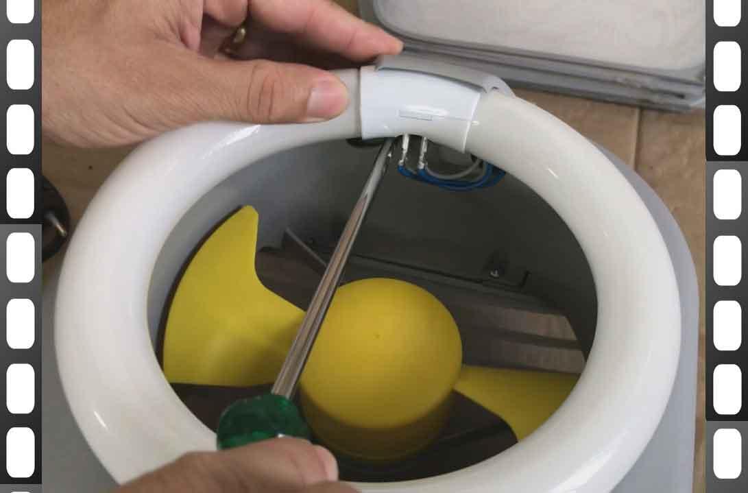 Como trocar a lâmpada da armadilha luminosa para insetos voadores Captor 220V